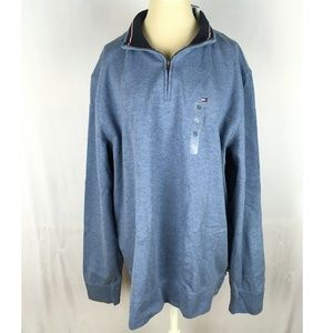 Tommy Hilfiger pullover sweater light blue collar
